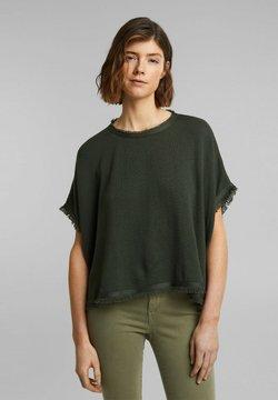 Esprit - MIT WOLLE - Cape - khaki green