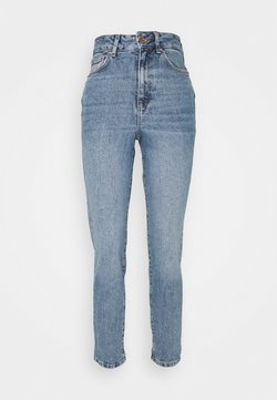 New Look - WAIST ENHANCE MOM JEAN HARRY - Jeans relaxed fit - mid blue