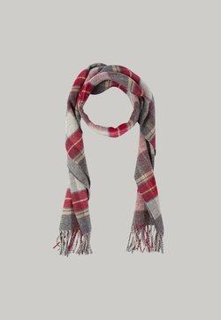 Hackett London - PATTERN  - Schal - grey/red