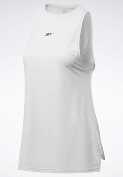 Reebok - UNITED BY FITNESS PERFORATED TANK TOP - Top - grey