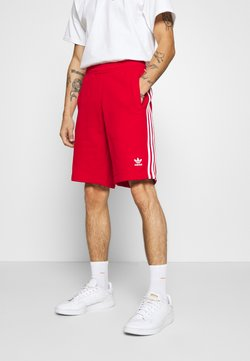 adidas Originals - 3-STRIPE UNISEX - Verryttelyhousut - red