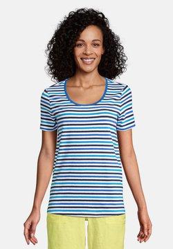 LANDS' END - T-Shirt print - malibu blue stripe