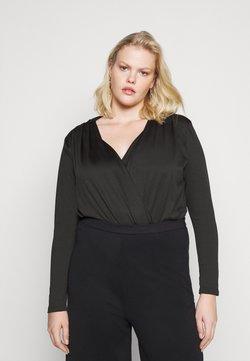 Vero Moda Curve - VMJANNY BODYSTOCKING - Body - black