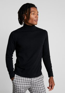 Only & Sons - ONSALEX  ROLL NECK - Jersey de punto - black/solid