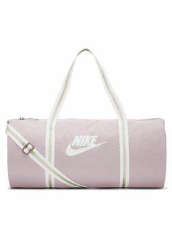 Nike Sportswear - HERITAGE - Sporttasche - plum chalk/plum chalk/white