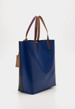 Marni - Shopping Bag - black/eclipse/eggplant