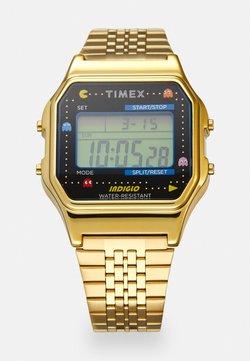 Timex - T80 PAC MAN UNISEX - Digitaalikello - gold-coloured