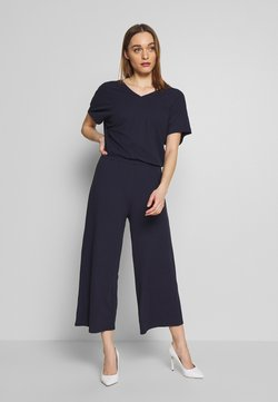 Marc O'Polo - V-NECK WIDE LEG - Combinaison - night sky