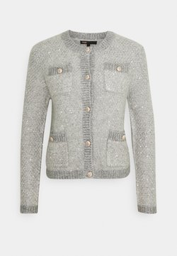 maje - MORNING - Strickjacke - gris