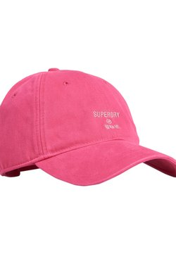Superdry - PHILLY - Cap - neon pink