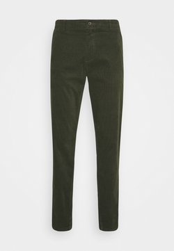 Lindbergh - CORD TROUSERS - Pantalones - army