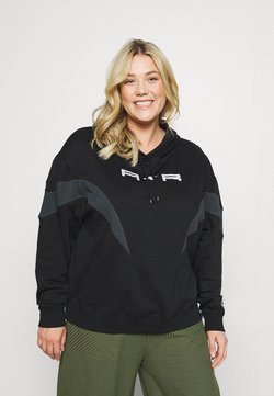 Nike Sportswear - AIR HOODIE PLUS - Sweatshirt - black