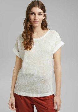 Esprit Collection - LEAF - T-Shirt print - off white