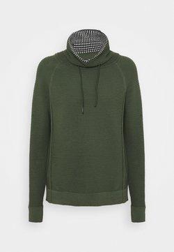 edc by Esprit - TUNNEL NECK - Pullover - light khaki