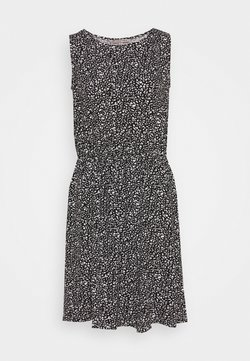 Anna Field - Jerseykleid - black/white