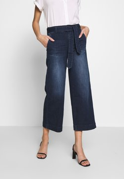 TOM TAILOR - DENIM CULOTTE - Flared Jeans - blue