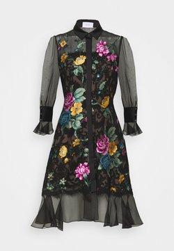 Marchesa - DAMASK DRESS - Robe de soirée - black
