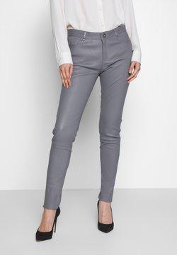 Oakwood - Pantalon en cuir - grey