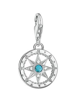 THOMAS SABO - KOMPASS - Anhänger - silver-colored/turquoise