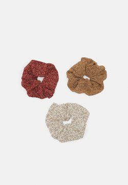 Pieces - PCIMKE 3 PACK OVERSIZED SCRUNCHIE - Haar-Styling-Accessoires - red/clay/brown
