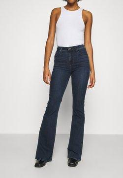 Lee - SUPER HIGH FLARE OPTIX - Flared Jeans - clean aurora
