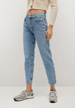 Mango - MOM80 - Jean slim - middenblauw