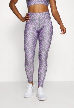 Pink Soda - ZEBRA TIGHT - Tights - lilac
