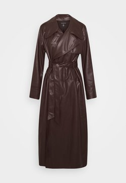 Who What Wear - CLASSIC  - Trenchcoat - dark chocolate