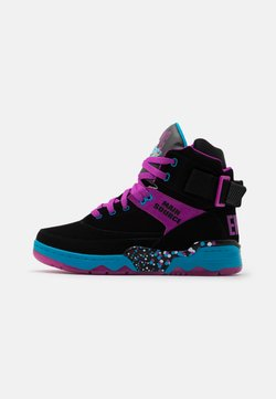 Ewing - 33 X MAIN SOURCE - Sneaker high - black/purple cactus flower/atomic blue