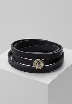Royal RepubliQ - SPIRAL BRACELET - Rannekoru - black