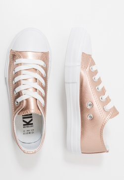 Cotton On - CLASSIC TRAINER LACE UP - Sneakers laag - rose gold metallic