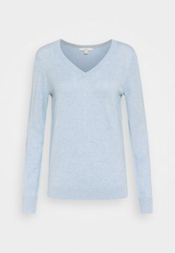 edc by Esprit - SWEATER  - Trui - light blue lavender