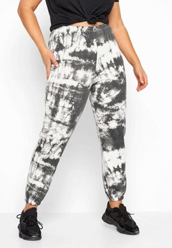 Yours Clothing - TIE DYE - Jogginghose - grey
