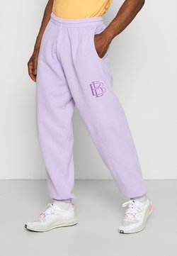Blood Brother - OVERDYE EMBROIDED JOGGER UNISEX - Jogginghose - lilac