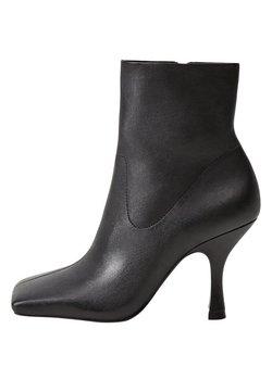 Mango - High Heel Stiefelette - schwarz
