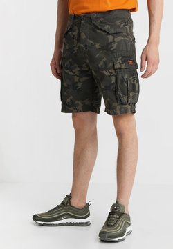 Superdry - CORE LITE RIPSTOP CARGO - Shorts - alpine camo
