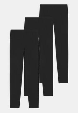 GAP - GIRL 3 PACK - Legging - black