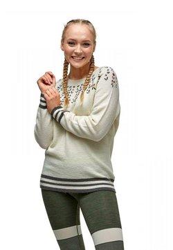 Kari Traa - Strikkegenser - white