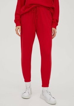 PULL&BEAR - Jogginghose - red