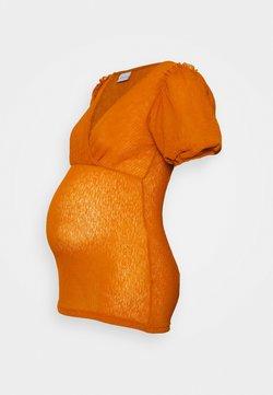 MAMALICIOUS - MLATLA TESS - Camiseta básica - sudan brown