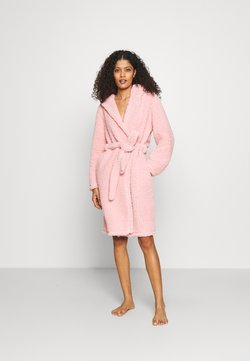 Loungeable - HOODED ROBE - Peignoir - pink