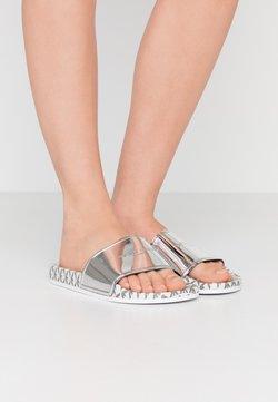 Emporio Armani - Pantolette flach - silver