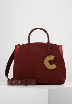 Coccinelle - CONCRETE BICOLOR - Torebka - marsala/cherry