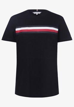 Tommy Hilfiger - T-Shirt print - marine
