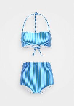 O'Neill - BELLA TALAIA FIXED SET - Bikini - blue/white