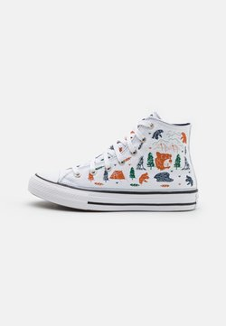 Converse - CHUCK TAYLOR ALL STAR UNISEX - Sneakers high - white/midnight navy/black