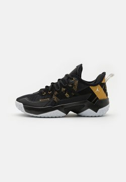 Jordan - ONE TAKE II UNISEX - Zapatillas de baloncesto - black/metallic gold/white