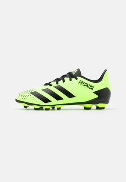 adidas Performance - PREDATOR 20.4 FOOTBALL BOOTS FIRM GROUND - Moulded stud football boots - signal green/core black