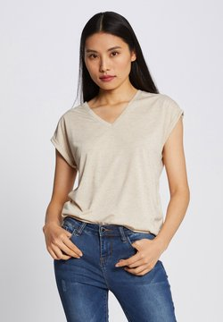Morgan - T-Shirt print - beige