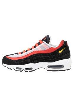 Nike Sportswear - AIR MAX - Baskets basses - white/chrome yello/black/crimson